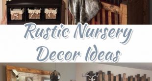 Rustic Nursery Themes PICTURES & Nursery Decor Ideas (May 2019)