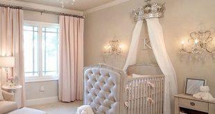 Gorgeous Girls Nursery Decor | Blush Pink & Beige Nursery Bedroom | Newborn Bedr...
