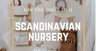 How to use the walls in a Scandinavian nursery like a pro #Scandinaviannursery ...