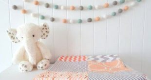Baby Nursery Ideas Neutral Grey Pom Poms 46 Ideas