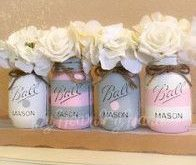 Best baby girl nursery rustic mason jars 27 ideas