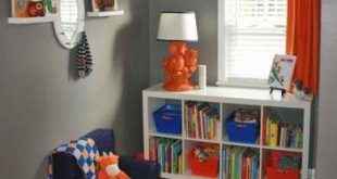 24+ ideas baby boy nursery navy orange accent walls