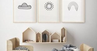 50 Cozy Scandinavian Kids Rooms Designs Ideas It's a fact that as children g...