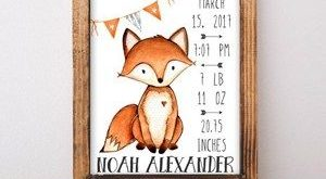 fox nursery ideas- boy nursery theme - woodland nursery - amorecraftylife.com #b...