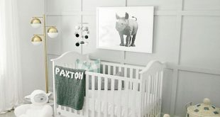 2019 NURSERY TRENDS ARE HERE!  Board + Batten: That rustic plank wall has some s...