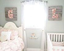 +23 Baby Girl Nursery Room Ideas Rustic Shabby Chic 66