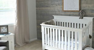 24 Inspirational Nursery Ideas For Boys: Rustic Boy Nursery. Woodsy/outdoor The...