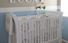 25 ideas baby boy nursery blue brown accent walls
