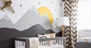 35 Amazing Accent Wall Ideas 2019 Accent Wall Ideas Nursery Landscape Scene T...