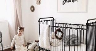 Baby Girl Nursery Black Crib Curtains 22+ Ideas