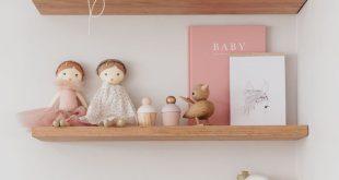 Baby Mädchen Kindergarten Inspiration | Kinderzimmer Dekor Inspiration | zartro...
