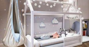 Baby Nursery: 27+ Einfache und gemütliche Babyzimmer-Ideen für Mädchen und Ju...