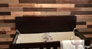Baby nursery elephants accent wall