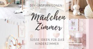 DIY Kinderzimmer Inspirationen für Mädchen - style-pray-love