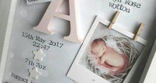 Neues Baby Geschenk, Baby Girl Geschenk, Geschenke für Neugeborene, 1. Geburtstagsgeschenk, Patenkind Geschenk, Geschenk für Nichte, Kindergarten Print,