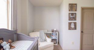Rustic Luxe Baby Boy Nursery Reveal