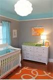 Vintage Baby Boy Nursery With An Amazing Chevron Accent Wall | Home ...