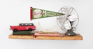 Vintage Camping Nursery Reveal