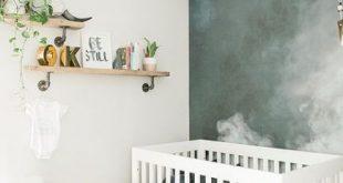 #wall #wallpaper #Wallpaper #Accent #Wall Wallpaper Accent Wall Modern Nursery ...